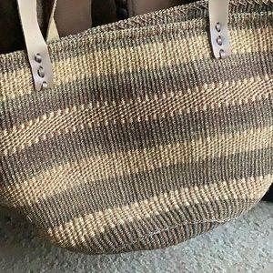 HAND WOVEN MARKET BAG/BASKET made in Kenya
